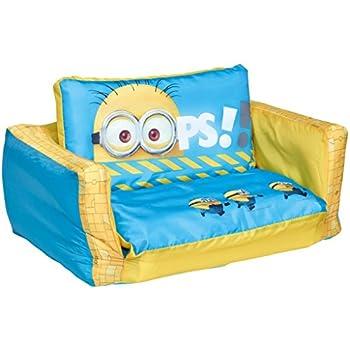 Ecksofa mini  Disney Finding Dory 2 in 1 Inflatable Flip Out Mini Sofa and ...