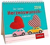 Der kleine Herzenswunschkalender 2018: Mini-Monatskalender