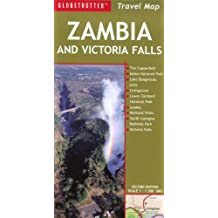 Zambia and Victoria Falls (Globetrotter Travel Map)
