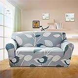 HOTNIU 1 Stück Stretch Sofa Couch Bezüge - Spandex Printed Loveseat Couch Schonbezug - Sessel Sesselbezug/Protector One Free Kissenbezug (1 Sitzer 90-130cm, Gemustert #16)