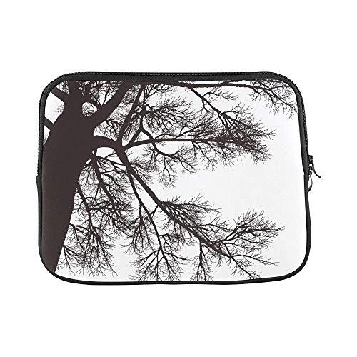 14144829c5 ASKSWF bolsa de ordenador portátil Design Custom Drawing Tree Detailed  Sleeve Soft Laptop Case Bag Pouch