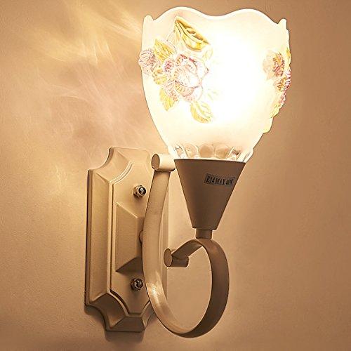 Wandleuchte Wandleuchten für Schlafzimmer - personalisierte einfache moderne Wohnzimmer Lampe Gang leuchtet LED warme Nacht Schlafzimmer Studie Hochzeit Zimmer (Plate-nacht-licht Wall)
