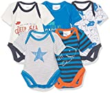 Baby-Jungen Body 5er Pack Twins
