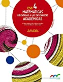 Matemáticas orientadas a las Enseñanzas Académicas 4. (Trimestres) (Aprender es crecer en conexión) - 9788469810699