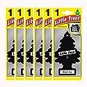 Little Trees MTZ04 Lufterfrischer, Black Ice, 6Stück