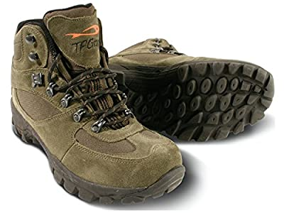 TF Gear X-Tuff Green Waterproof Mid Ankle Carp Fishing Boots - Ex Demo by TF Gear