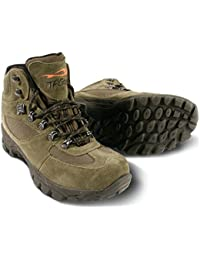 TF Gear X-Tuff Green Waterproof Mid Ankle Carp Fishing Boots - Ex Demo