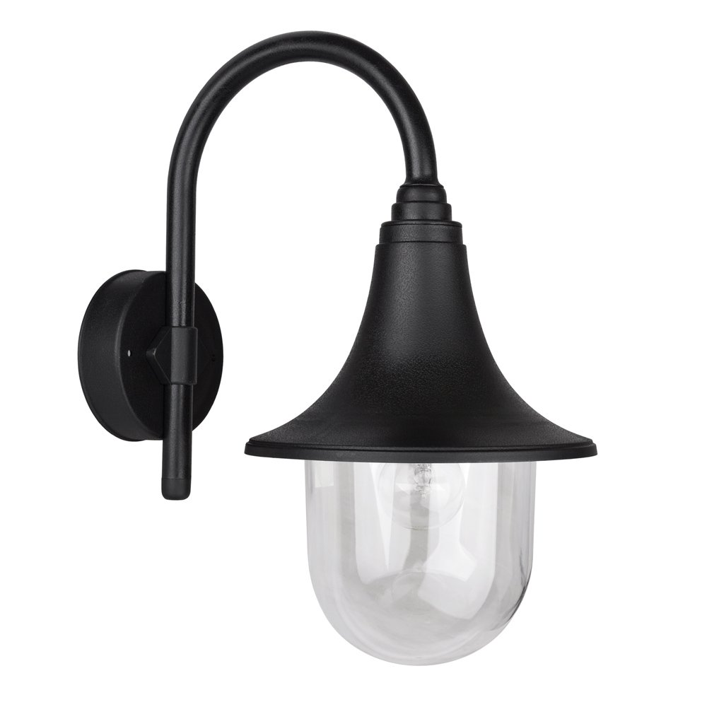Modern ip44 outdoor black fishermans style wall light lamp amazon modern ip44 outdoor black fishermans style wall light lamp amazon lighting aloadofball Images