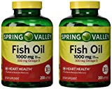 Spring Valley - Fish Oil Omega-3, 1000 m...