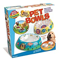JJays Store Make With Your Friends - Ideal Easter Birthday Present Idea - Great Value Girls Boys Girl Boy Children Child Kids - Paint & Design Your Best Friend Pet Bowls
