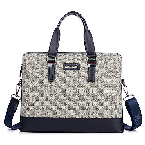 Handtasche Mode Männer Tasche Lässig Umhängetasche blau