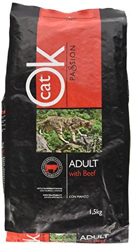 Trainer (Nova Foods) Ok Cat Adult Manzo kg. 1.5