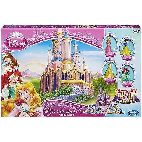 Hasbro Disney Principessa- Pop-Up Magico Castello Gioco 6 Personaggi (Disney Castello)