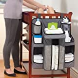 #3: GTC Cot Organiser, Nursery Organizer and Baby Diaper Caddy | Hanging Diaper Organization Storage for Baby Essentials | Hang on Crib, Changing Table Or Wall - (ITN 643)