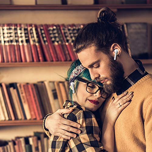 Bluetooth Kopfhörer Sport Earphones Stereo Bluetooth V5.0 In Ear True Wireless Earbuds Over Ear kabellose kopfhörer Ohrhörer HD Sound CVC 6.0 Noise Cancelling Headset mit Mikrofon für iPhone Samsung - 7