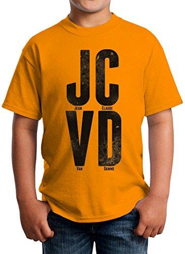 Jean Claude Van Damme Big Black Letters Kids Unisex T-shirt 5-13 Ages Small