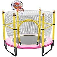 59 Zoll Trampolin mit Basketball Stand sicher elastischen Band Rebounder Fitnesstrainer für Kinder-Trainingsgeräte preisvergleich bei fajdalomcsillapitas.eu