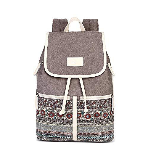 Rucksack Damen Rucksäcke Bohemian Mädchen Schule Casual Daypack Bookbag für Arbeit, Schule und Reise