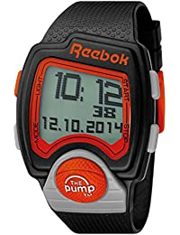 Reebok RC-PLI-G9-PBPB-BO - Reloj de cuarzo para hombre, correa de silicona color negro
