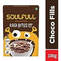 Soulfull Ragi Bites, Choco Fills - No Maida, High Calcium, 100g