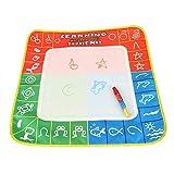 Zerodis 4 colori Mat Doodle Mat Acqua Aqua Disegno Mat bordo e penna magica Doodle riutilizzabili bambini giocattolo educativo regalo 49
