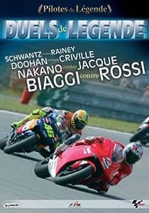 Les grands duels motos avec rossi et biaggi