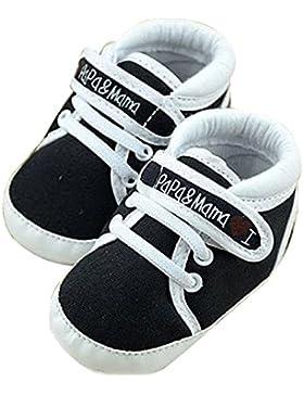 zapatos de bebe - SODIAL(R) zapatos ocasionales infantiles de suela suave de calzado deportivo de patron de I...