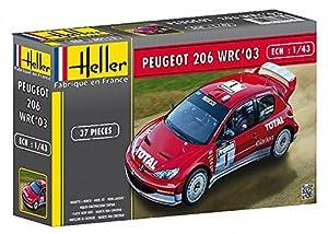 Glow2B Heller - 80113 - Maqueta para Construir - Peugeot 206 WRC