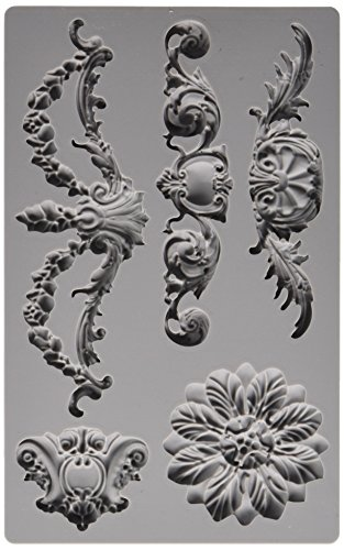 Prima Marketing Hierro Orchid Diseños vintage art Decor-Molde barroco # 3