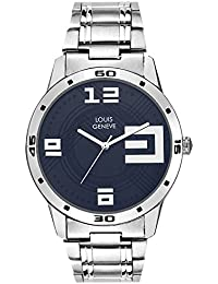 Louis Geneve Metallica Series Analog Watch For Men (BLUE-163)