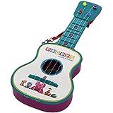 Pocoyo - Guitarra en estuche, 4 cuerdas (Claudio Reig 319.0), surtido: azul o rosa