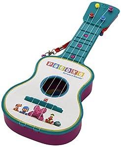 Claudio Reig Pocoyo REIG319  - Guitarra en estuche, 4 cuerdas, colores surtidos