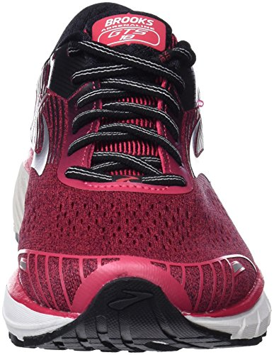 Brooks Adrenaline GTS 18, Scarpe da Running Donna Multicolore (Pink/Black/White 1B619)