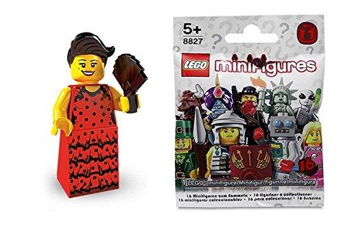 LEGO 8827 - Minifigur Flamenco Tänzerin aus Sammelfiguren-Serie 6 (Lego Serie 9 Minifiguren)