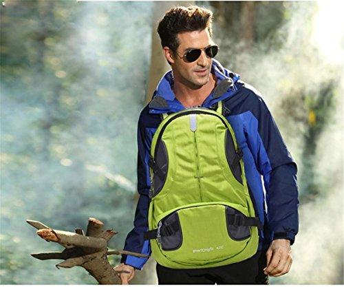 45L Sporttasche Rucksack Solide Nylon Sporttasche Camping Wandern Taschen Reisen im Freien Wanderrucksack für Männer Frauen 3