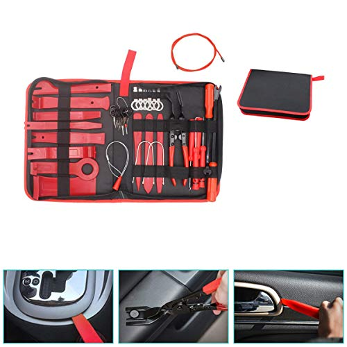 Preisvergleich Produktbild Demontage Werkzeug Auto Zierleistenkeile-set 39Pcs Türverkleidungs-lösewerkzeug Auto Zubehör Removal Reparatur Set