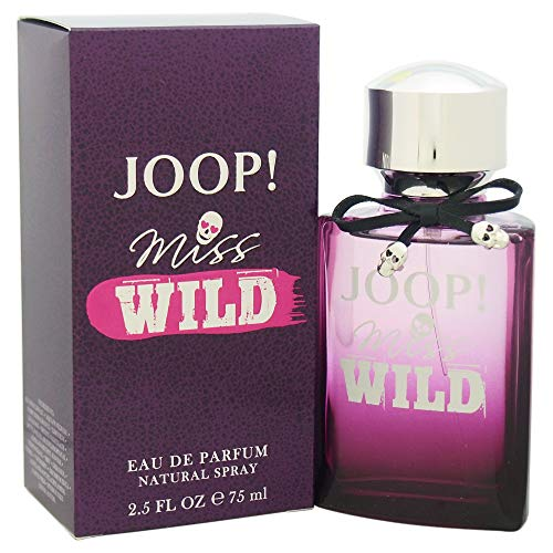 JOOP! Miss Wild femme/woman,  Eau de Parfum Spray , 1er Pack (1 x 75 ml) (Parfum Rosa Frauen)