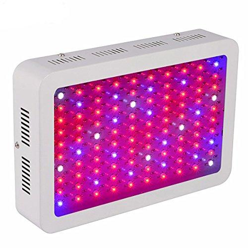 Sumchimamzuk 400W Vollspektrum LED Pflanzenlampe Wachstumslampe 100 LEDs Wachstumsleuchte 54000LM-60000LM