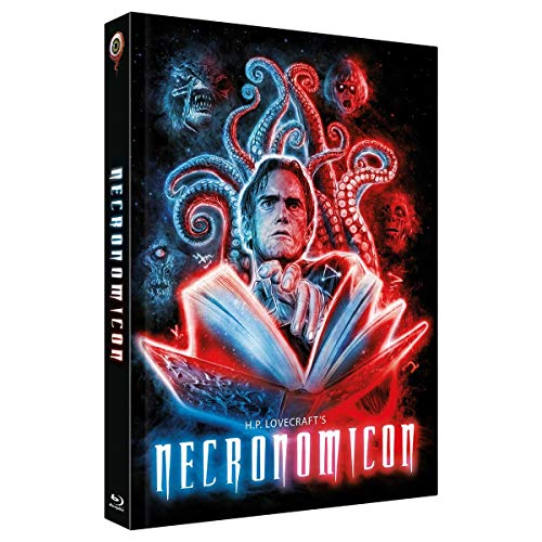 H.P.Lovecrafts Necronomicon - Mediabook - Cover B - 3-Disc Limited Collector's Edition Nr. 31 - limitiert auf 333 Stück (+ DVD) (+ Bonus-DVD) [Blu-ray]