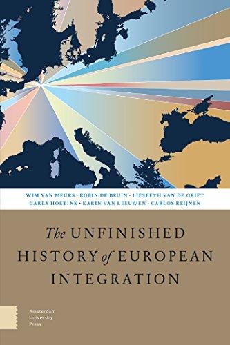 The Unfinished History of European Integration por Wim Van Meurs