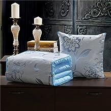 JinyidianShop-almohada Manta minimalista paisajes rurales americana algodón almohada edredón Oficina Sofás cama