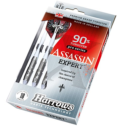 Fléchette pointe plastique Harrows Assassin Expert AX1 18g - 90% Tungstène