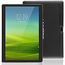 Lnmbbs 25.7 cm(10.1'') 3G Tablet PC 10 Inch Tablet PC Quad Core Processor, 2GB RAM, 16GB ROM, 3G Android 5.1 Lollipop Tablet, WI-FI, Dual Camera, Dual Sim Card, Bluetooth 4.0, GPS, 1280* 800IPS(Negro)