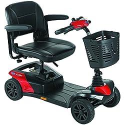 Scooter Colibri | 4 ruedas |Color Rojo batería: 12 ah