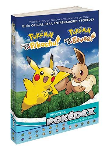 Pokémon: Let's Go, Pikachu/Eevee! Guía oficial de entrenador y Pokédex por The Pokemon Company