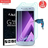 J&D Compatible para 3-Pack Galaxy A5 2017 Protector de Pantalla, [Vidrio Templado] [NO Cobertura Completa] Cristal Templado Protector de Pantalla para Samsung Galaxy A5 (Release in 2017)