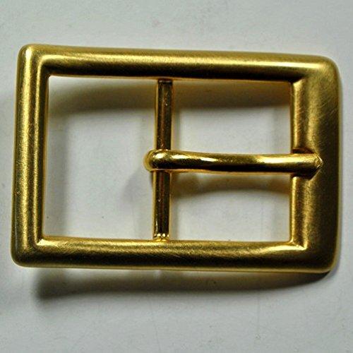 Preisvergleich Produktbild Markenlos Gürtel Schnalle Schließe Messing für 30 mm Riemen Buckle Ledergurt (16)