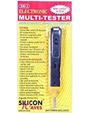 Tool Point Silicone Waves Analogue Circuit AC, DC Electrical Tester (Multicolour)