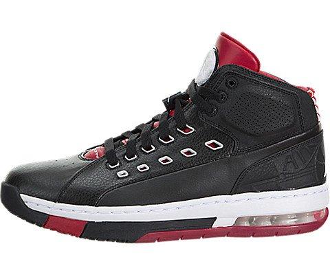 Nike Ol'school noir / blanc / rouge gymnase chaussure de basket 10.5 US