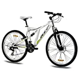 """26"""" KCP MOUNTAINBIKE FAHRRAD RAD ROOSTER 21 Gang weiss - 66"""